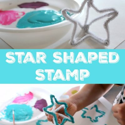 How to Make Your Own Star Shaped Stamp With Your Child