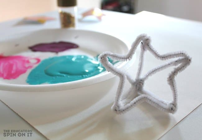Star Shaped Stamp for Painting with Kids