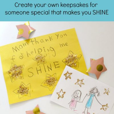 Create Your Own Star Stamps for Kids Art