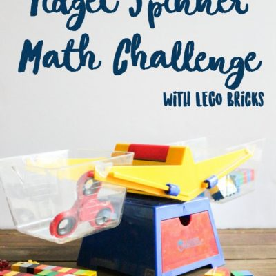 Fidget Spinner Math Challenge with LEGO Bricks