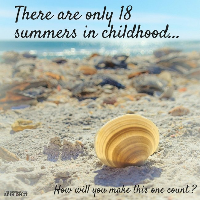 Image result for 18 summers with your kids