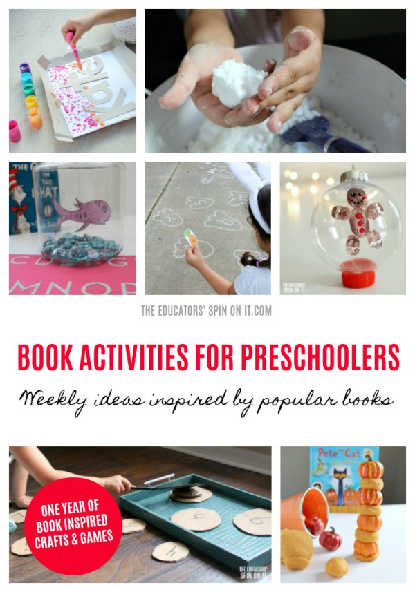 BOOK ACTIVITIES FOR PRESCHOOLERS