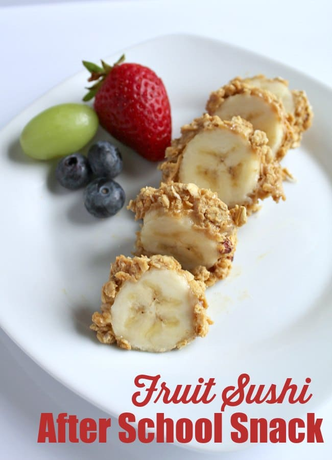 Fruit Sushi After School Snack Idea