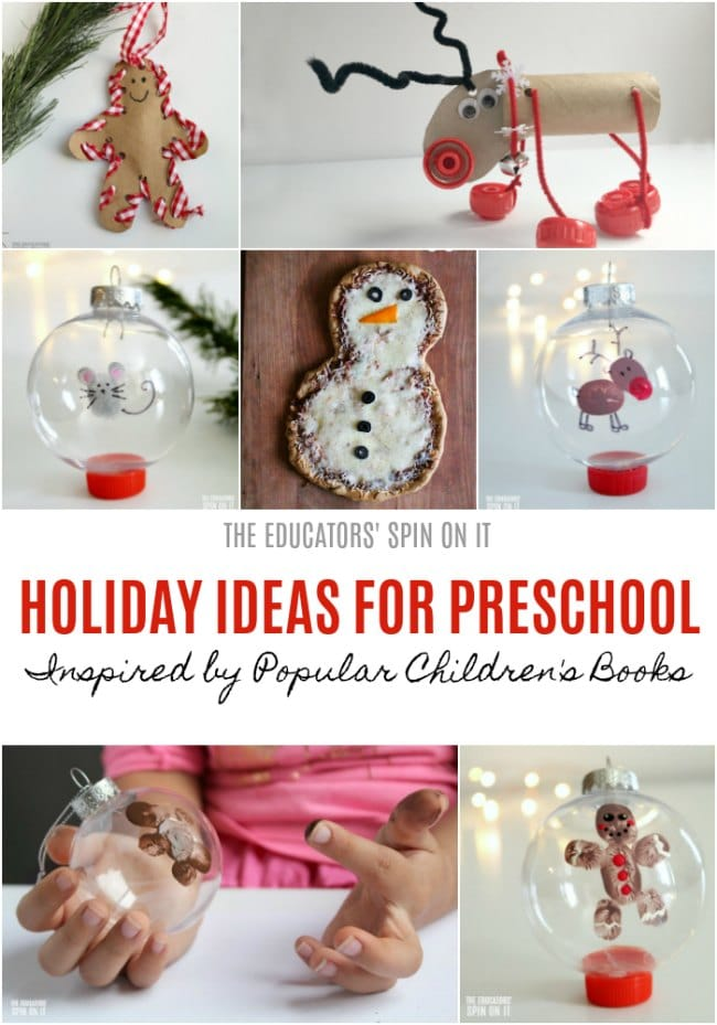Holiday Ideas for Preschool Inspired by Children's Books #eduspin