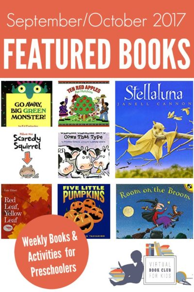 Weekly Virtual Book Club for Kids Featuring Preschool Books and Activity Ideas