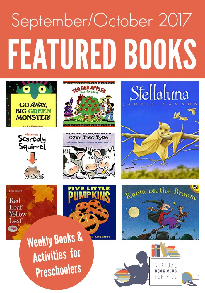 September and October Books for Preschoolers with Activities