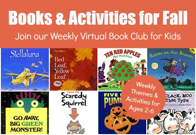 September and October Books to Read with Preschoolers