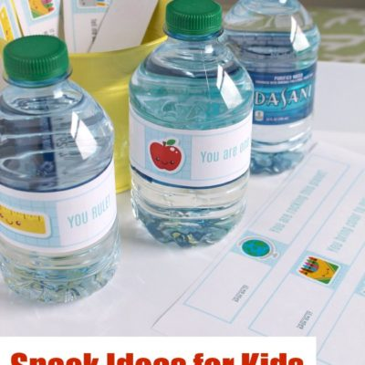After School Snack Ideas With a Printable Surprise!