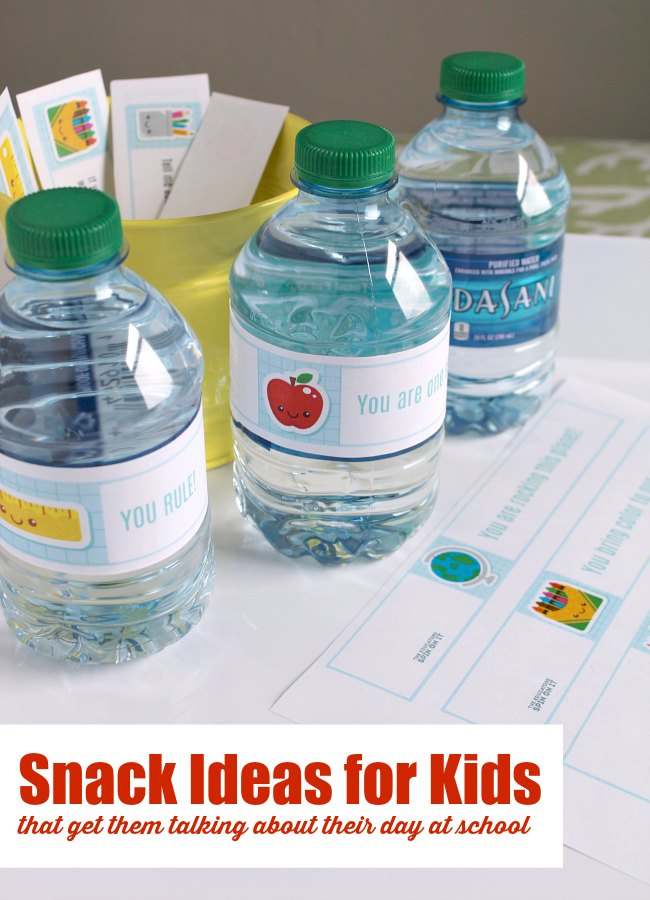 Snack Ideas for Kids After School