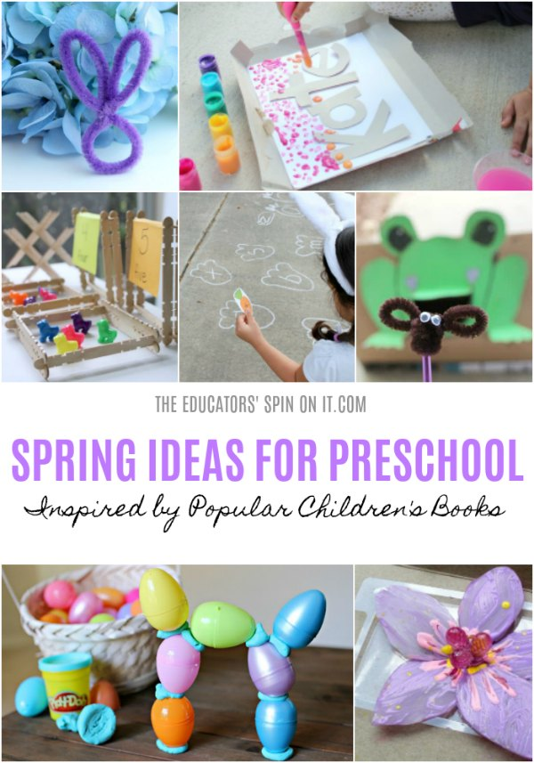 Spring Ideas for Preschool Inspired by Popular Children's Books