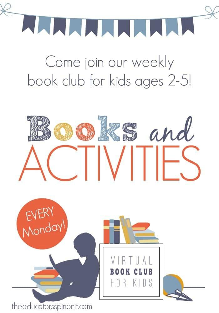 Weekly Preschool Books and Activity Ideas on Mondays