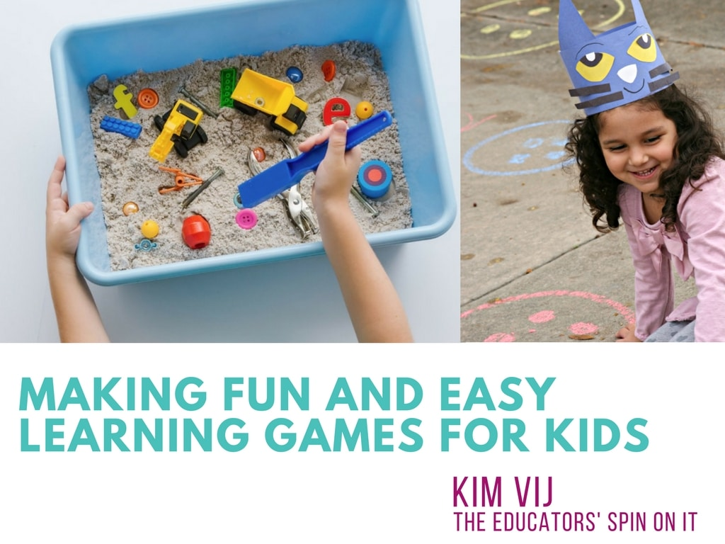 Making Fun and Easy Learning Games for Kids