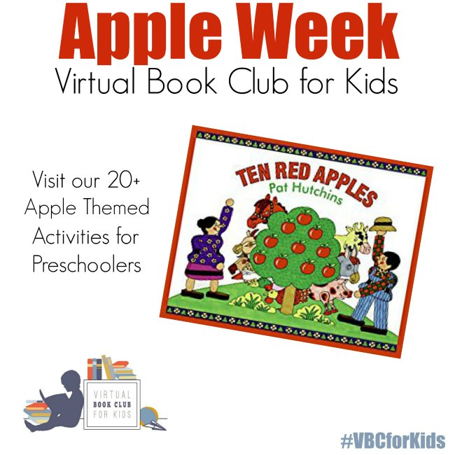 Apple week for Virtual Book Club for Kids