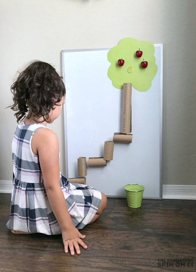 Apple STEM Activity for Preschoolers