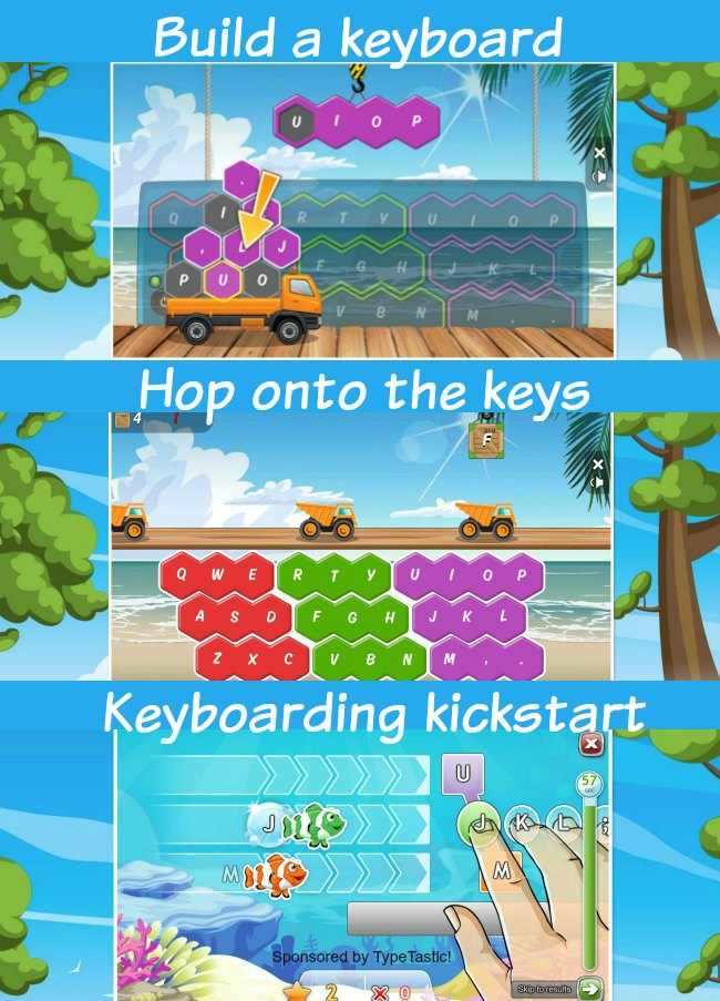 TypeTastic! learning to type games for kids