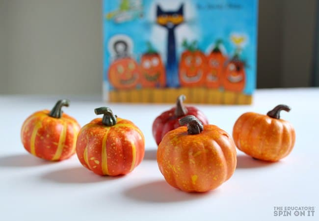 5 Little Pumpkins STEM Activity for Kids