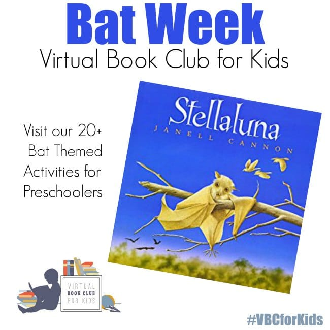 Bat Themed at VBC Preschool Activies for Kids