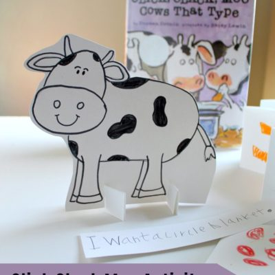 Click Clack Moo Activity with Shapes