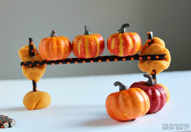 Five Little Pumpkins Engineering Activity for Kids
