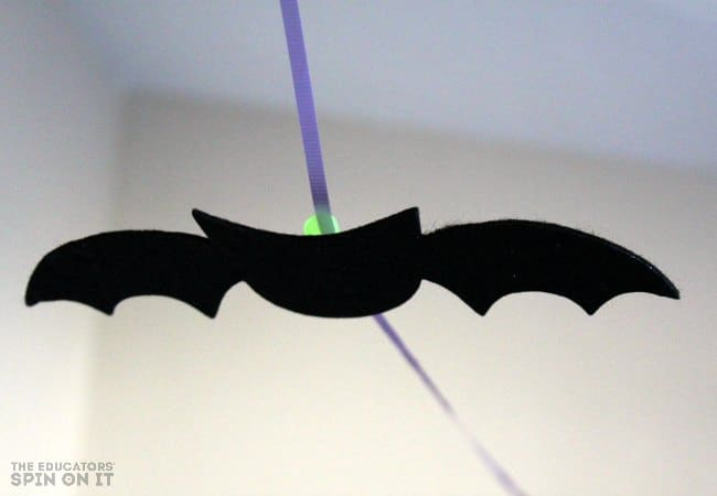 Halloween Flying Bat STEM Activity for Kids