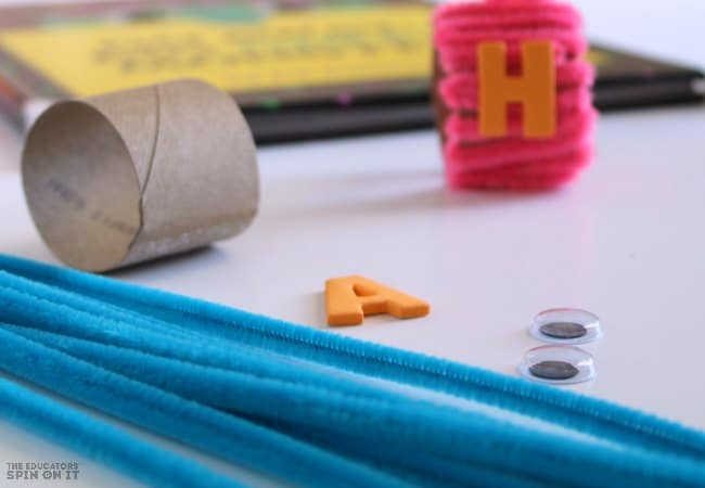 Monster Beads Craft with Pipe Cleaners