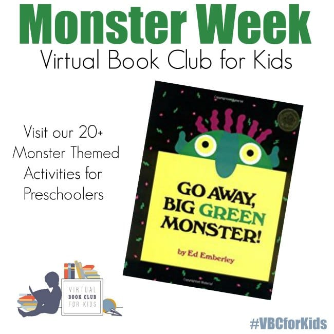 picture about Go Away Big Green Monster Printable Book identify Monster Themed Reputation Necklace Craft for Preschoolers - The