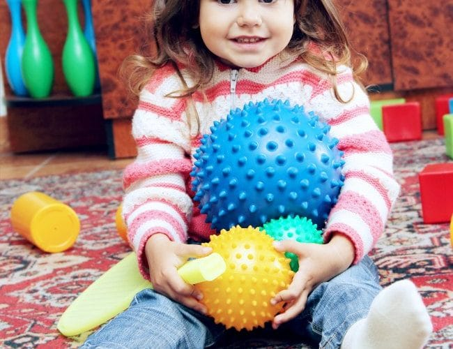 FUN roll the ball learning game ideas for young kids