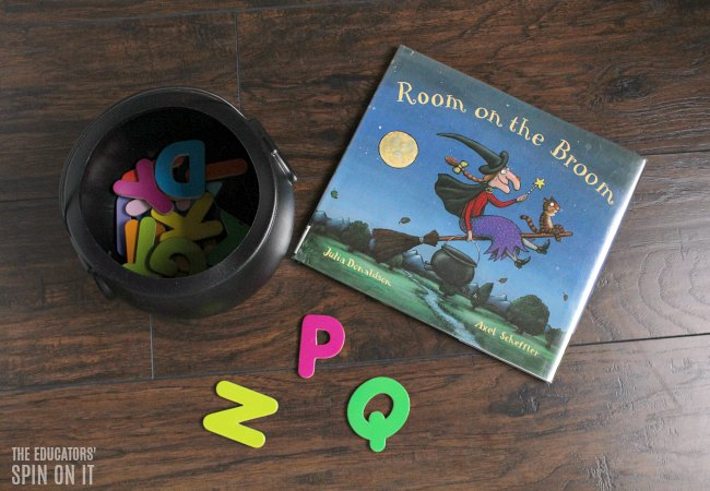 Room on the Broom ABC Activity for Preschoolers