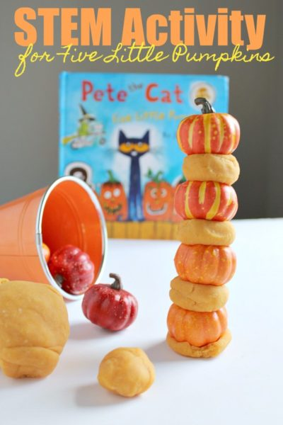 Stacking Pumpkins Activity : A Fall STEM Activity for Kids