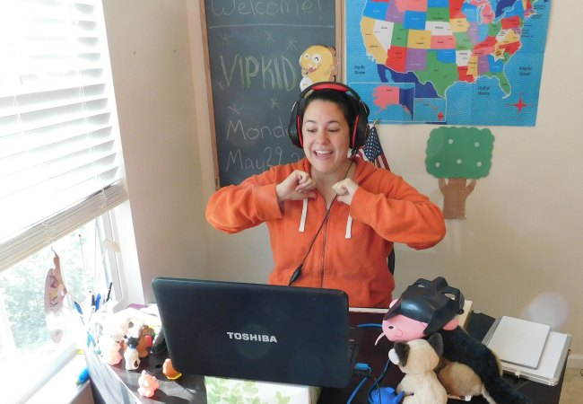 VIPKID Teacher Setup Example for Online Class