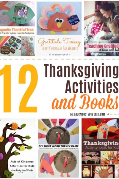 12 Thanksgiving Activities and Books for Kids