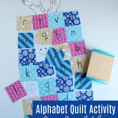 Llama Llama Red Pajama Alphabet Quilt Activity