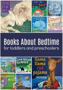 Books About Bedtime for Toddlers and Preschoolers