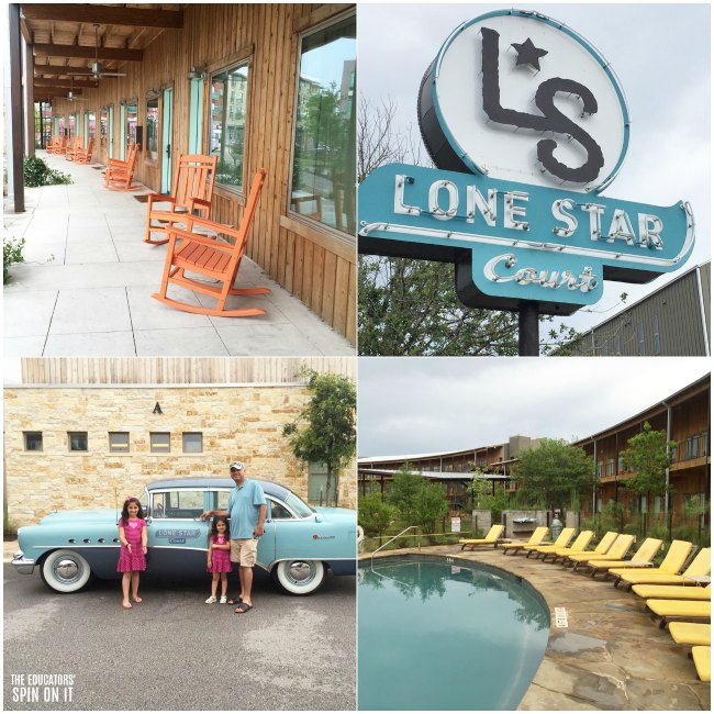 Family Stay at Lone Star Court Hotel in Austin, Texas