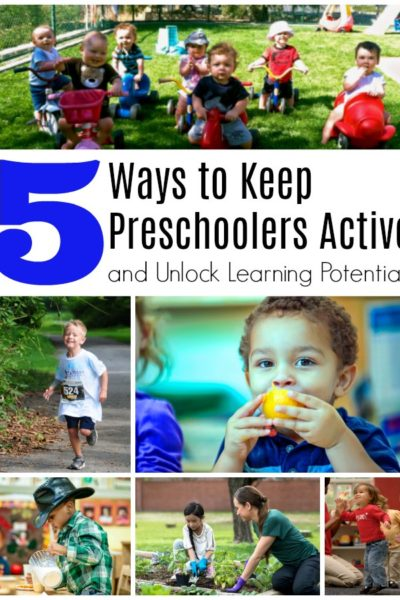 Five Ways to Keep Preschoolers Active and Unlock Learning Potential