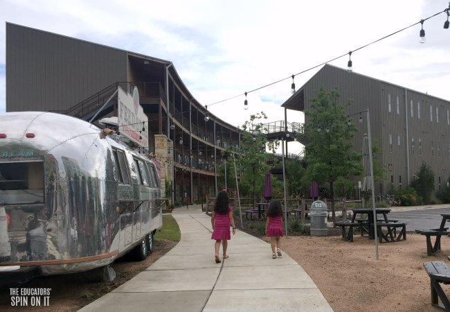 Food Trucks at Lone Star Court Hotel in Austin, Texas