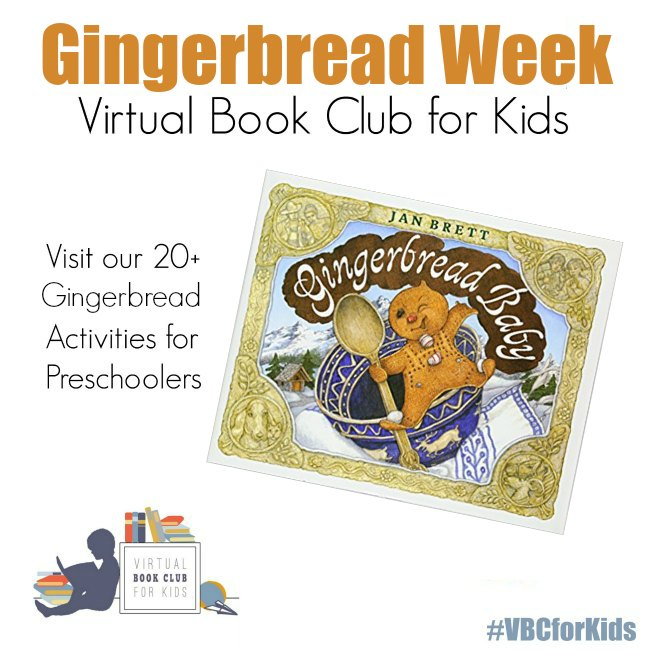 Gingerbread Man Week for Virtual Book club for Kids