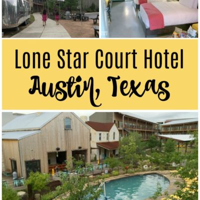 Staying at the Lone Star Court Hotel in Austin, Texas