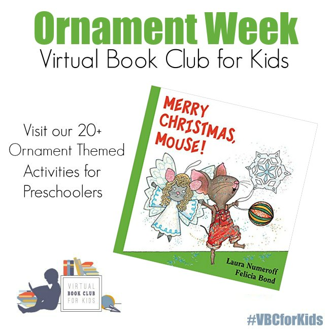 Ornament Week for Virtual Book Club for kids