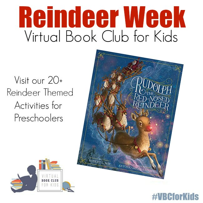 Reindeer Week for Virtual Book Club for Kids
