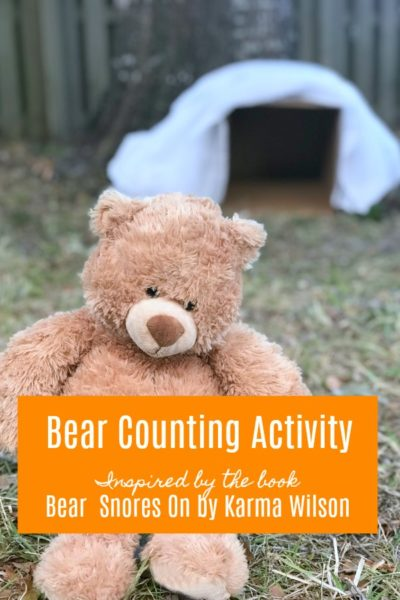 Printable Bear Counting Activity Inspired by Bear Snores On