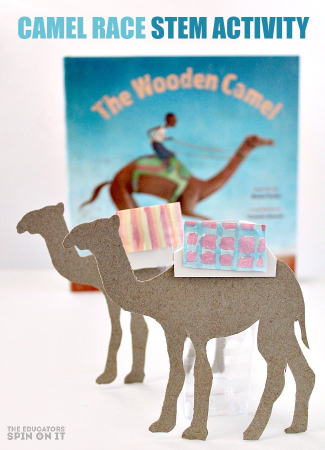 Camel Race STEM Activity for Kids from Kim Vij