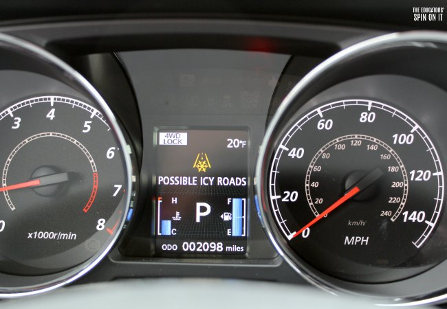 2018 Mitsubishi Outlander Sport 2.4 Dashboard including Speedometer