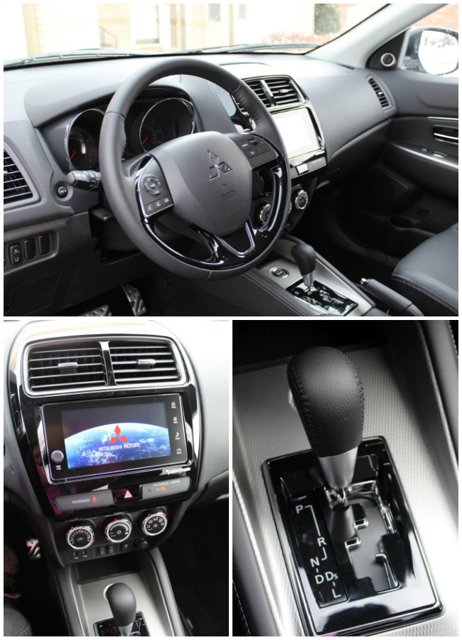 Mitsubishi Outlander Sport 2.4 Interior Details and Review