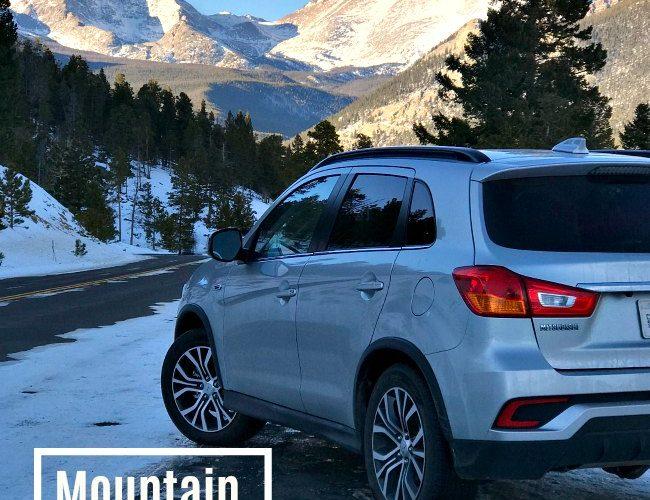 Winter Mountain Adventure Driving a Mitsubishi Outlander Sport 2.4