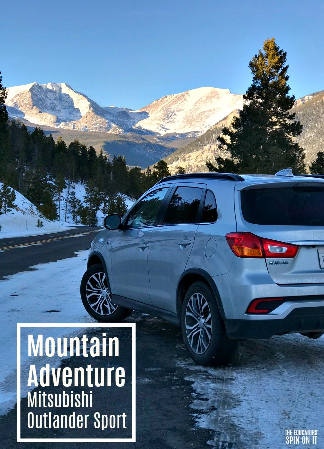 Mitsubishi Outlander Sport 2.4 Winter Mountain Adventure with Snow