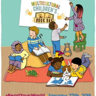 Get Ready to #ReadYourWorld at the Multicultural Children's Book Day