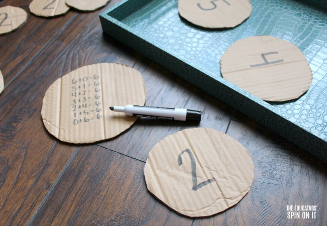 Pancake Themed Math Facts for Kids