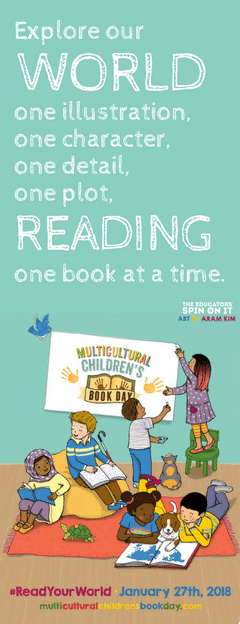 ReadYourWorld Bookmark for Multicultural Children's Book Day