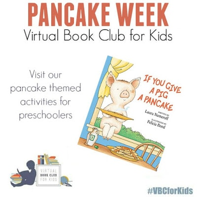 Pancake Themed Activities for Preschool